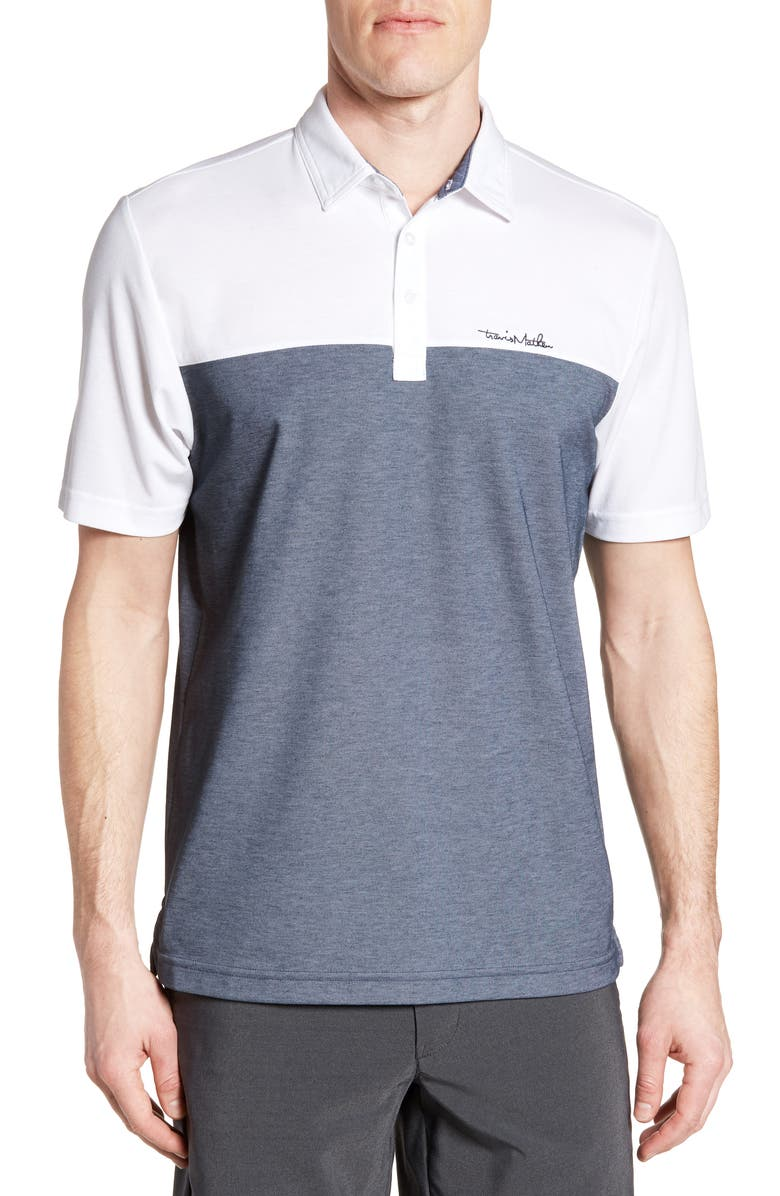 TRAVISMATHEW Travis Mathew Rudds Regular Fit Polo Shirt, Main, color, 100
