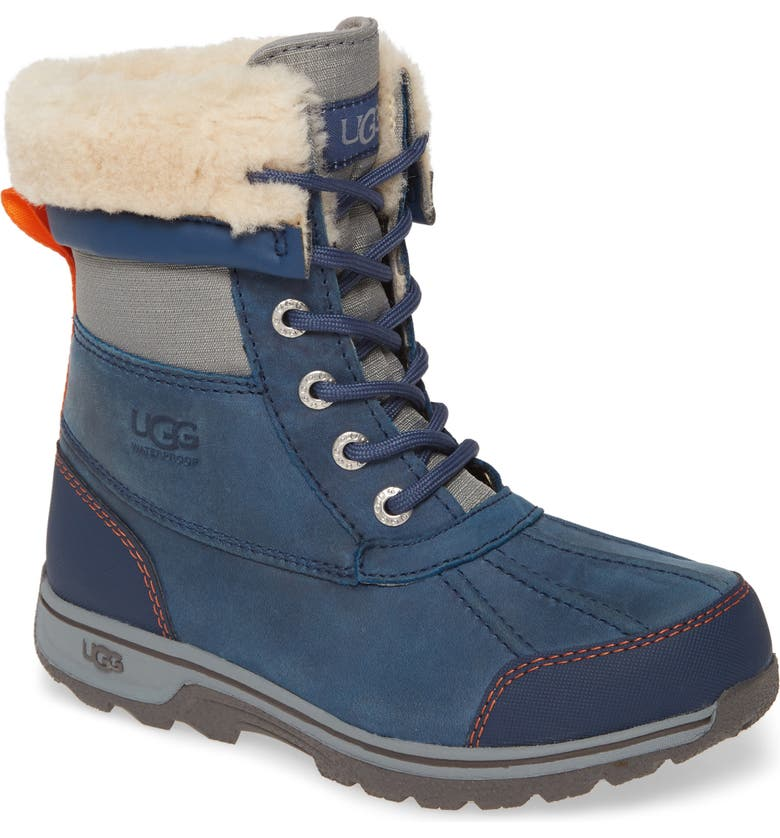 UGG<SUP>®</SUP> Butte II Waterproof Winter Boot, Main, color, ENSIGN BLUE