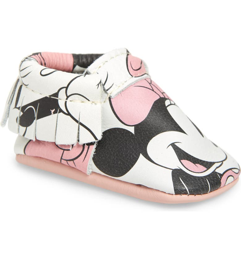 FRESHLY PICKED x Disney Moccasin, Main, color, MINNIE MOUSE