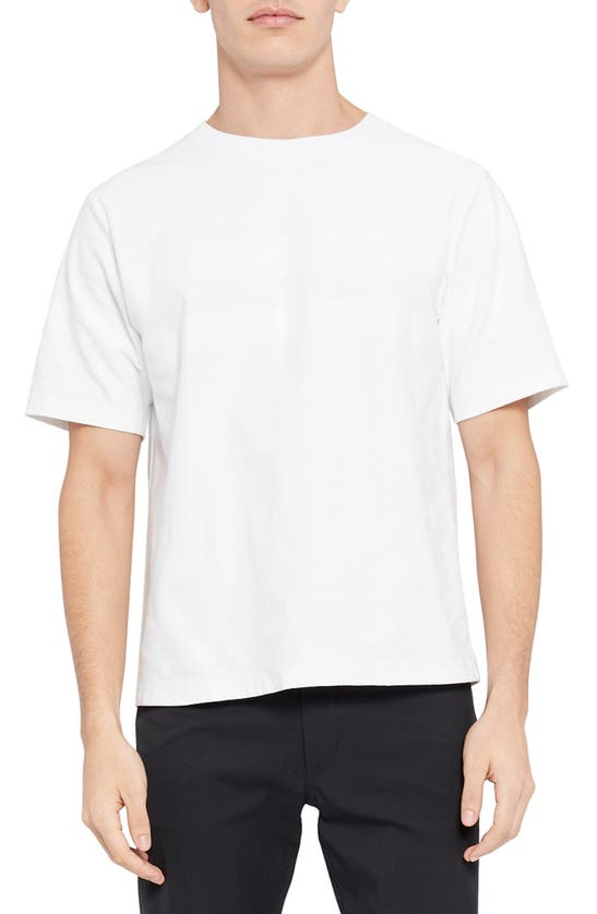 Theory Cottons CASEY OVERSIZE T-SHIRT