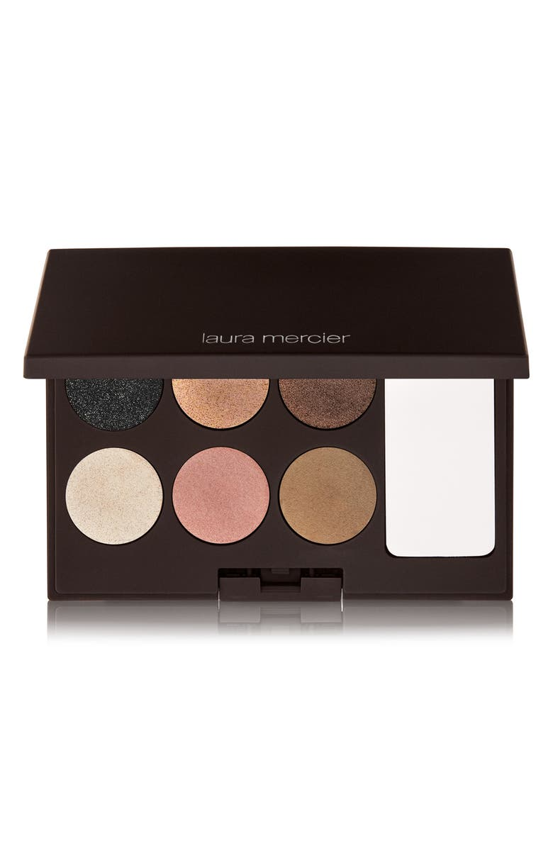 LAURA MERCIER Bohème Chic Eye Clay Palette, Main, color, 000