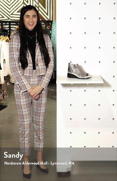 Naomi Perforated Wedge Sandal, sales video thumbnail