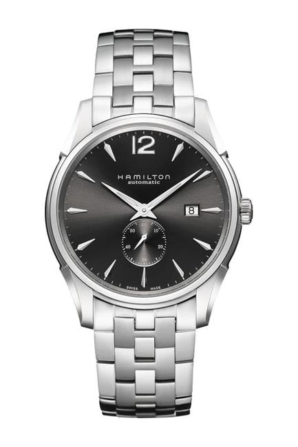 Image of Hamilton Men's Jazzmaster Small Second Auto Bracelet Watch, 43mm