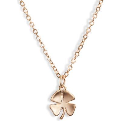 Ten79La Clover Charm Necklace