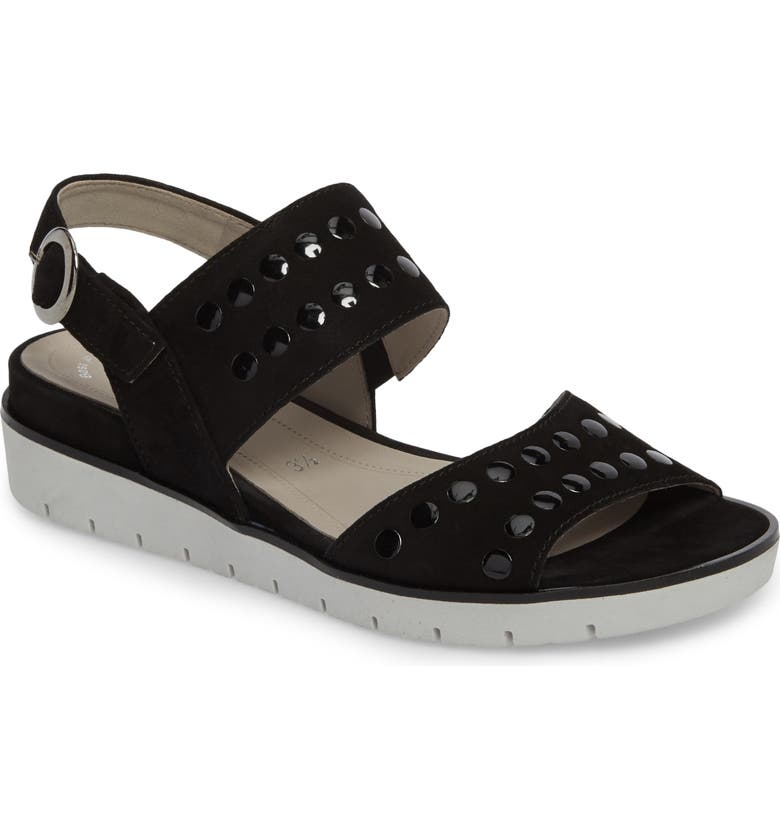Studded Sandal by Gabor