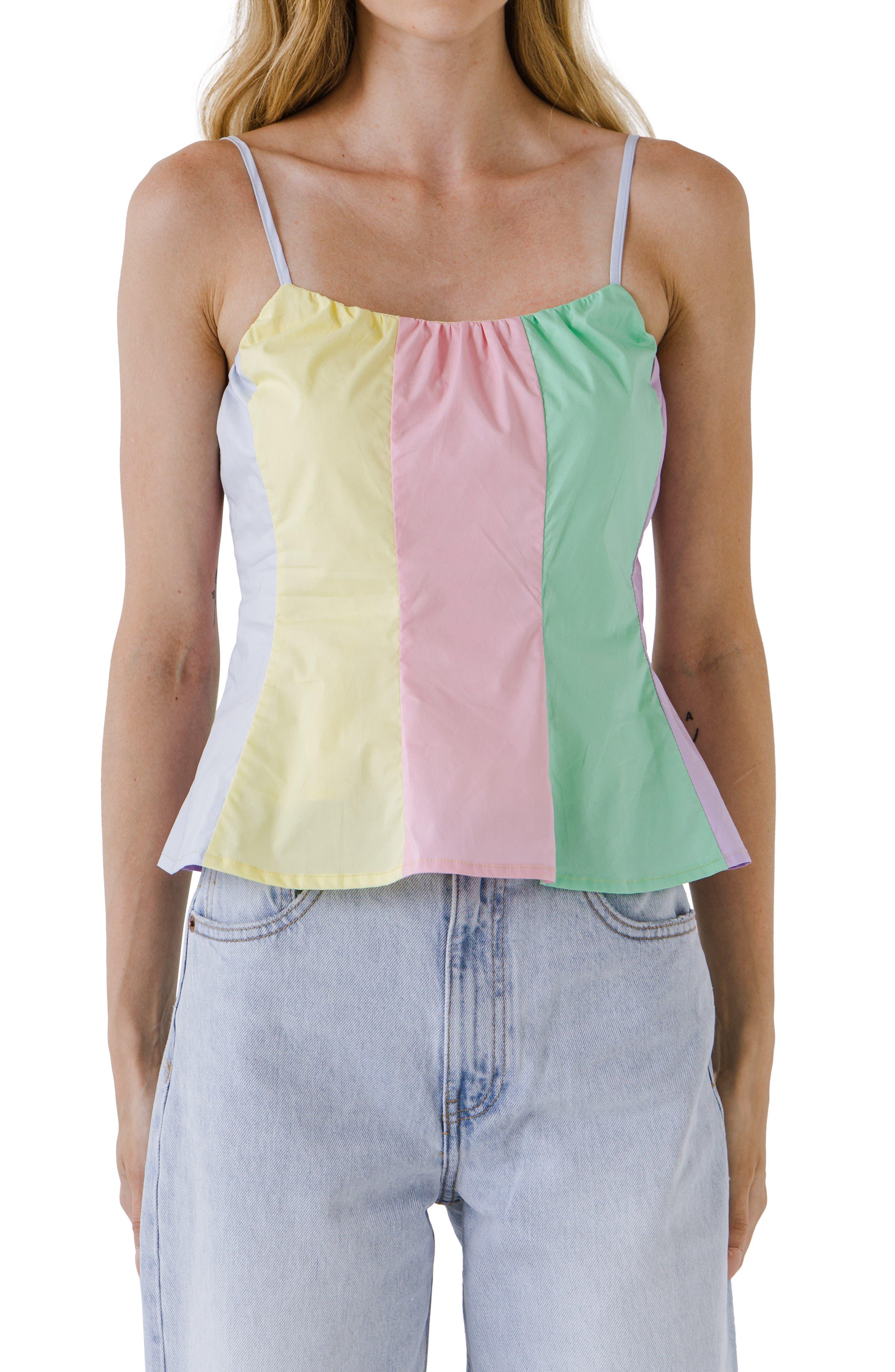 Colorblock Camisole