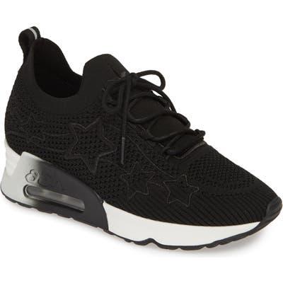 Ash Lunatic Star Sneaker, Black