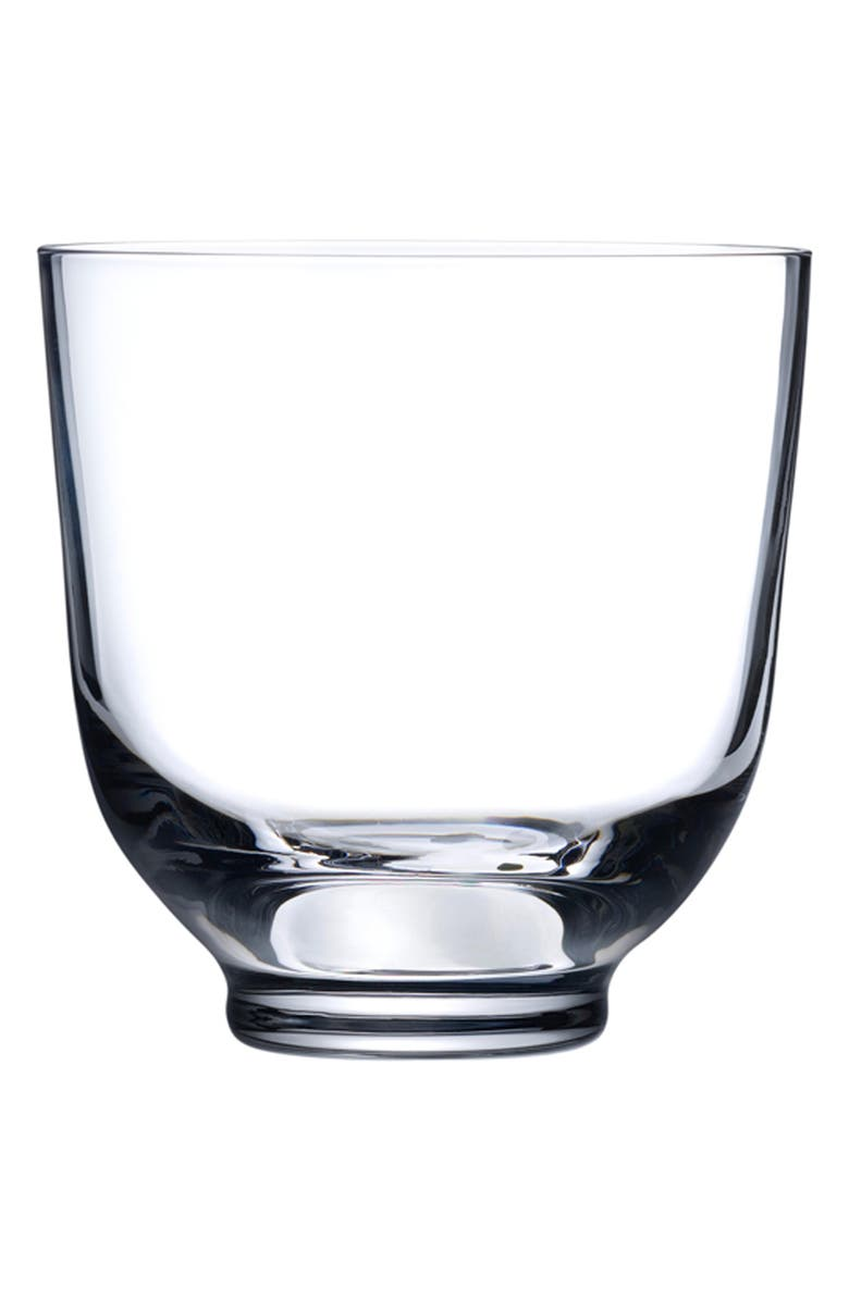 NUDE Hepburn Set of 4 Crystal Lowball Glasses, Main, color, CLEAR