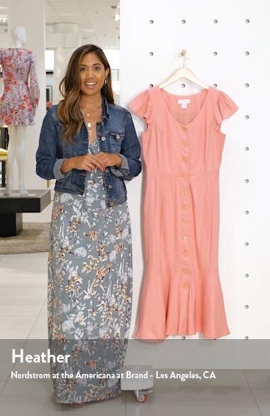 Button Down Midi Dress, sales video thumbnail
