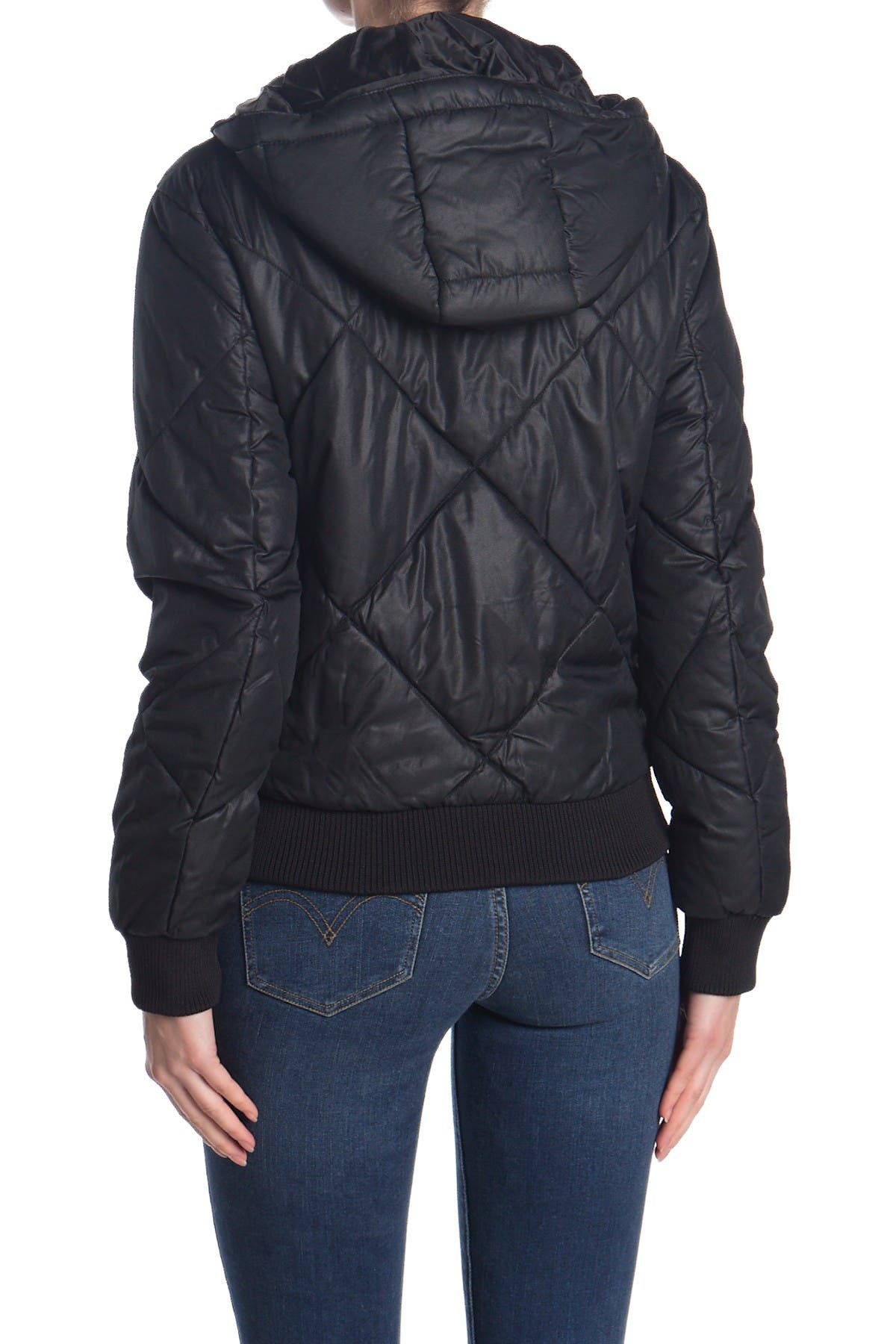 BNCI Quilted Hooded Bomber Jacket