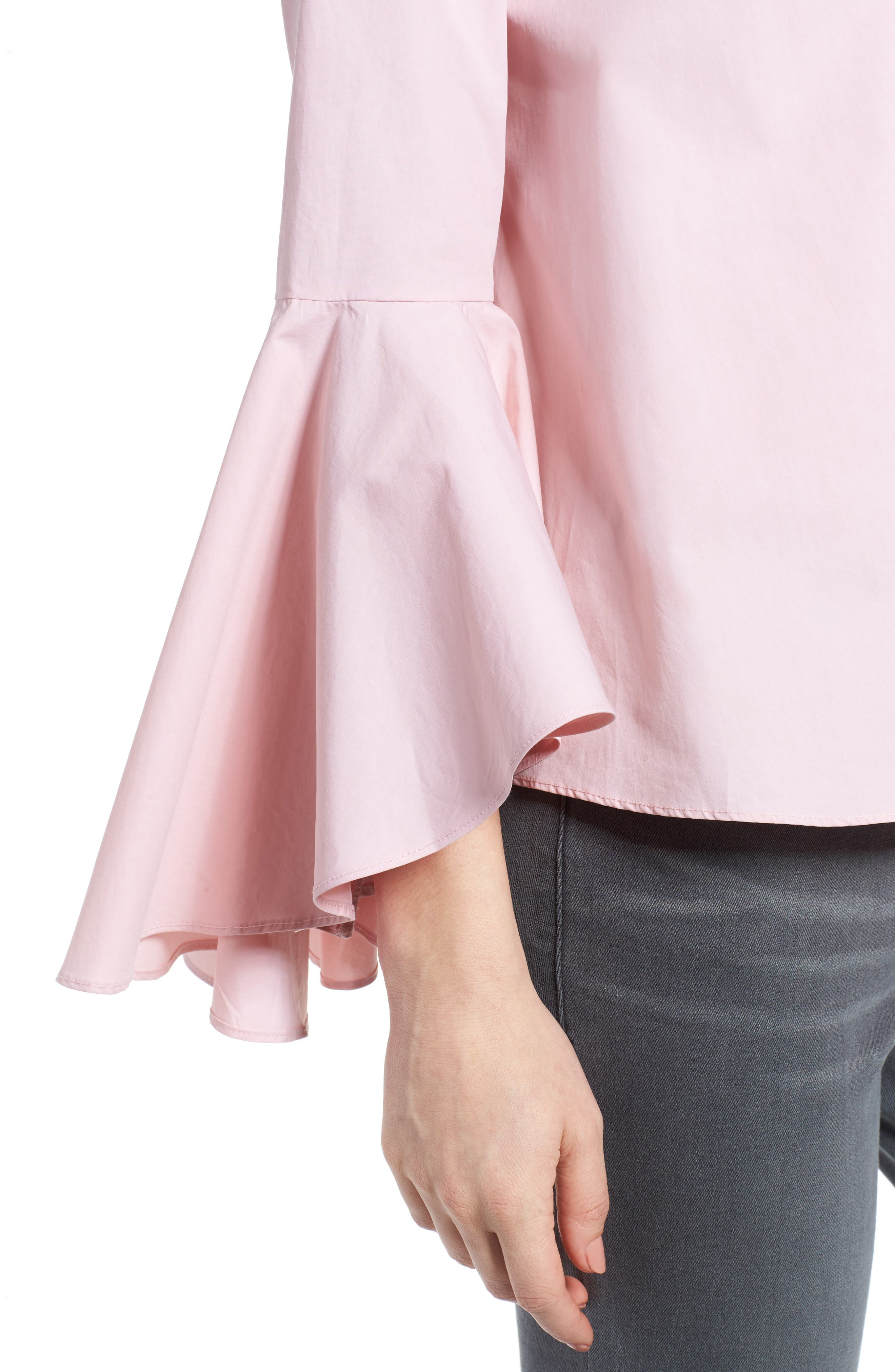 ,                             Bell Sleeve Top,                             Alternate thumbnail 14, color,                             654