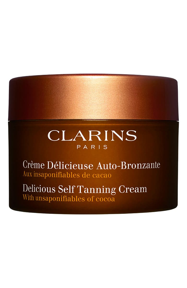 CLARINS Delicious Self-Tanning Cream, Main, color, NO COLOR