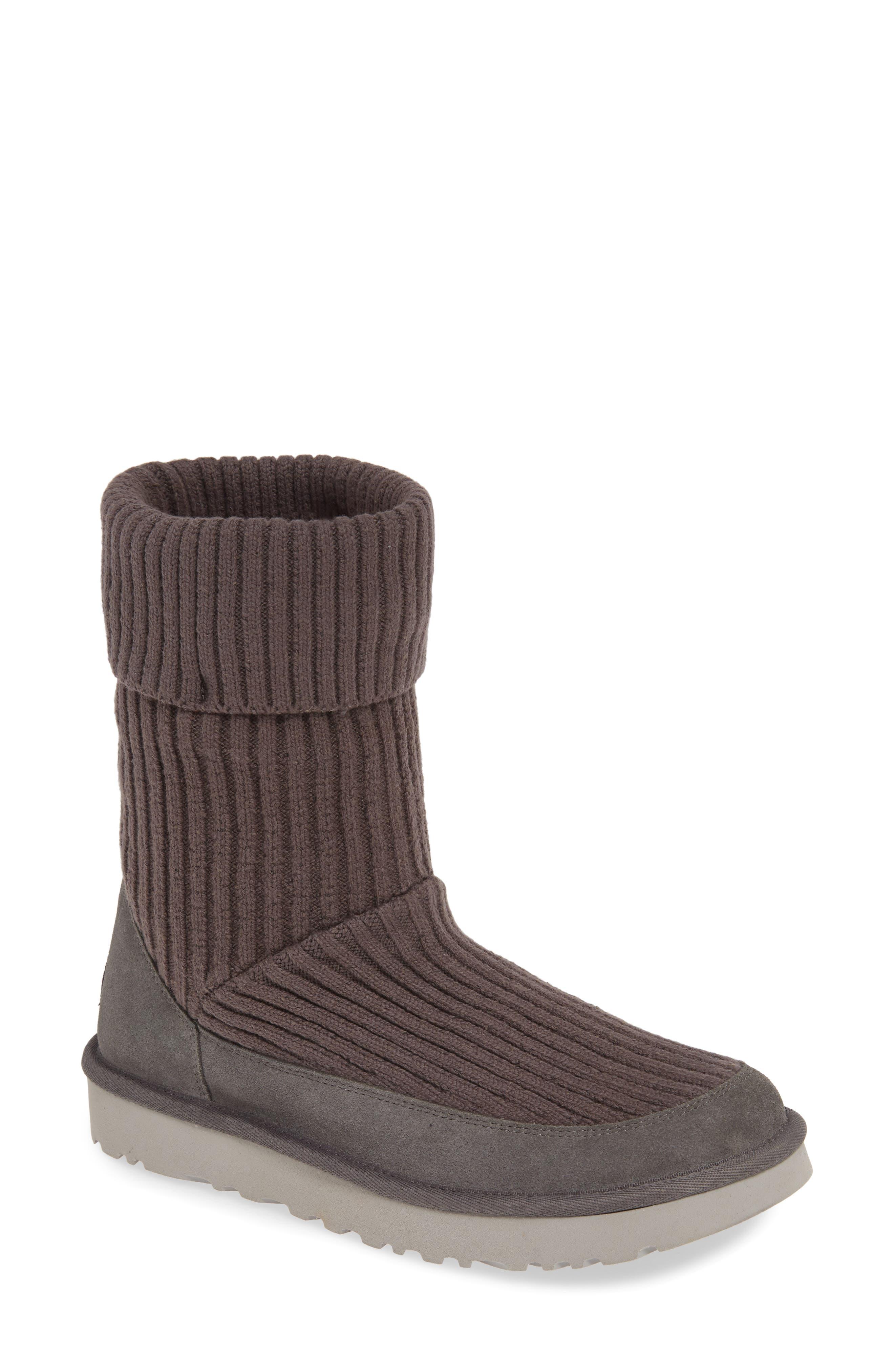 UGG® Qori Rib Knit Boot (Women)