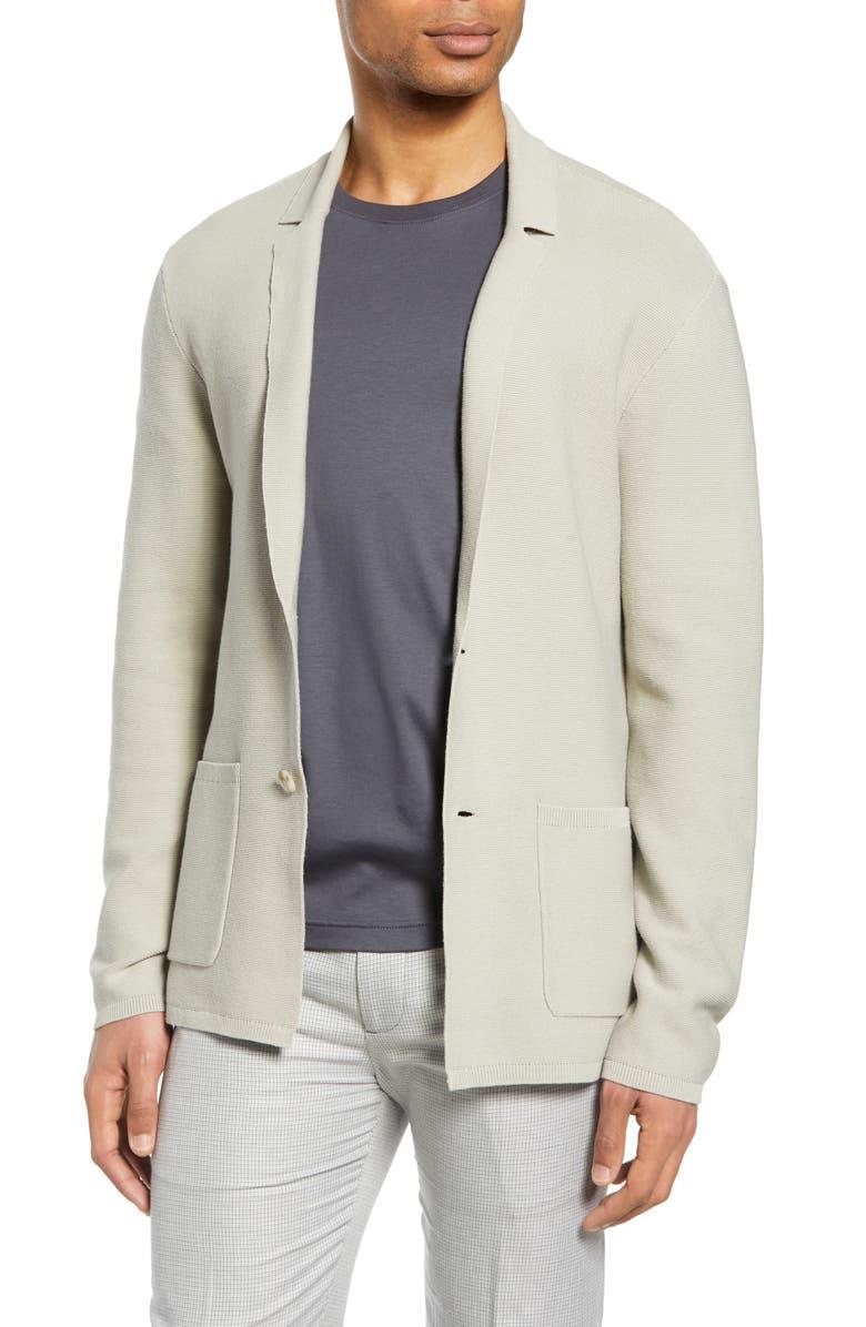CLUB MONACO Knit Blazer, Main, color, 250