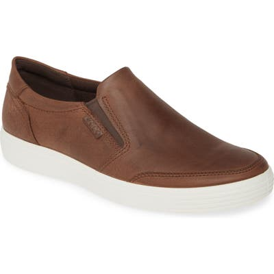 Ecco Soft 7 Casual Sneaker,8.5 - Brown