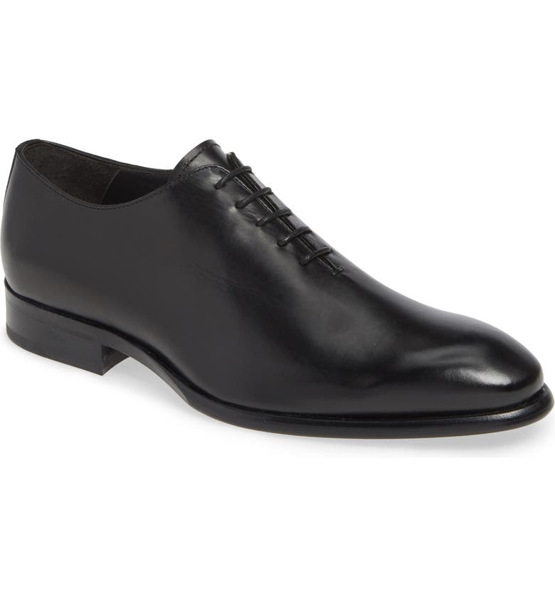 TO BOOT NEW YORK Forte Wholecut Oxford, Main, color, BLACK LEATHER