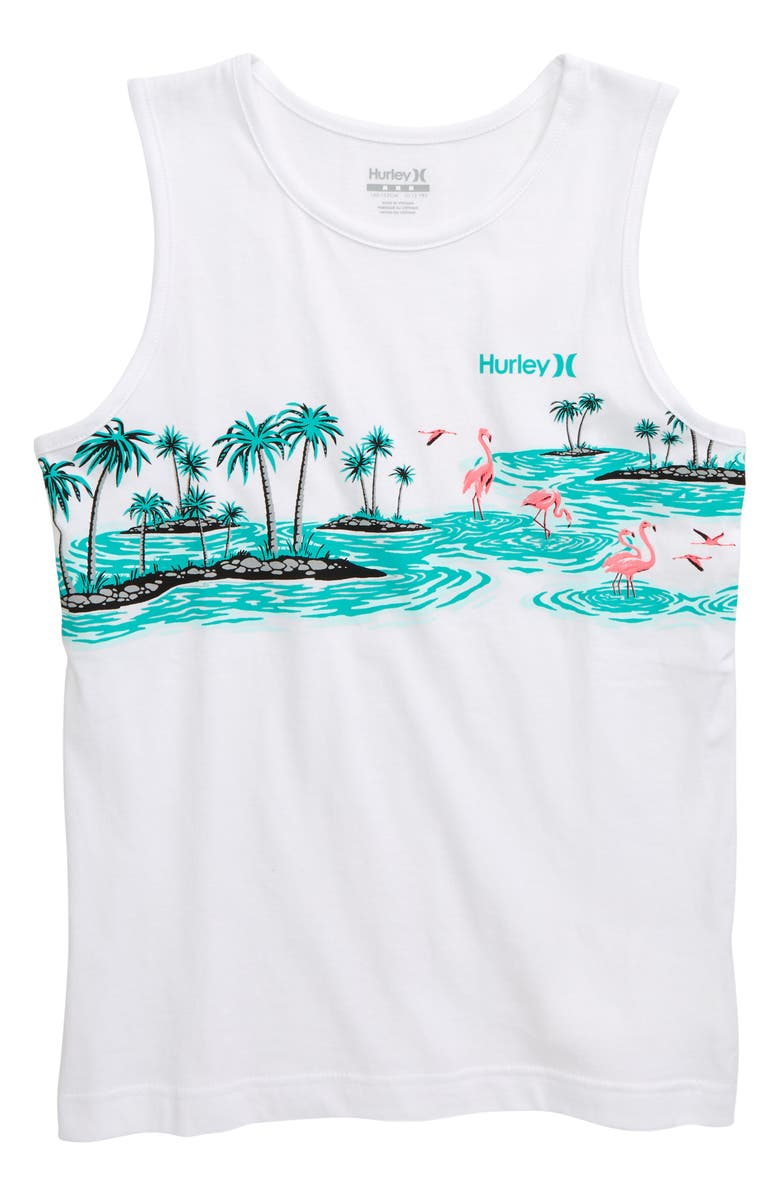 HURLEY Flamingo Tank, Main, color, 100