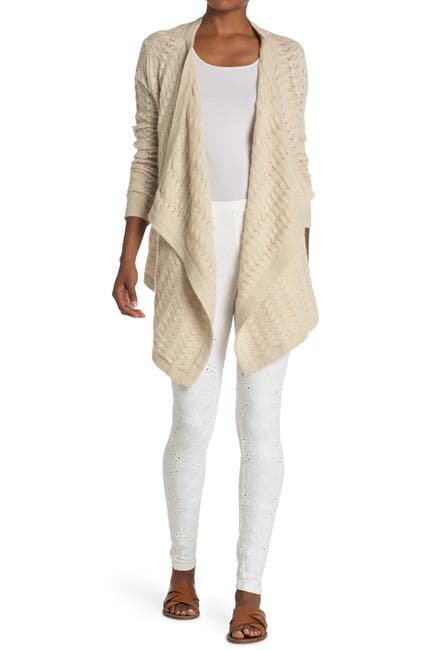 Image of Johnny Was Camille Draped Cardigan