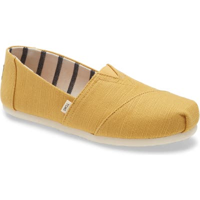 Toms Alpargata Slip-On, Yellow