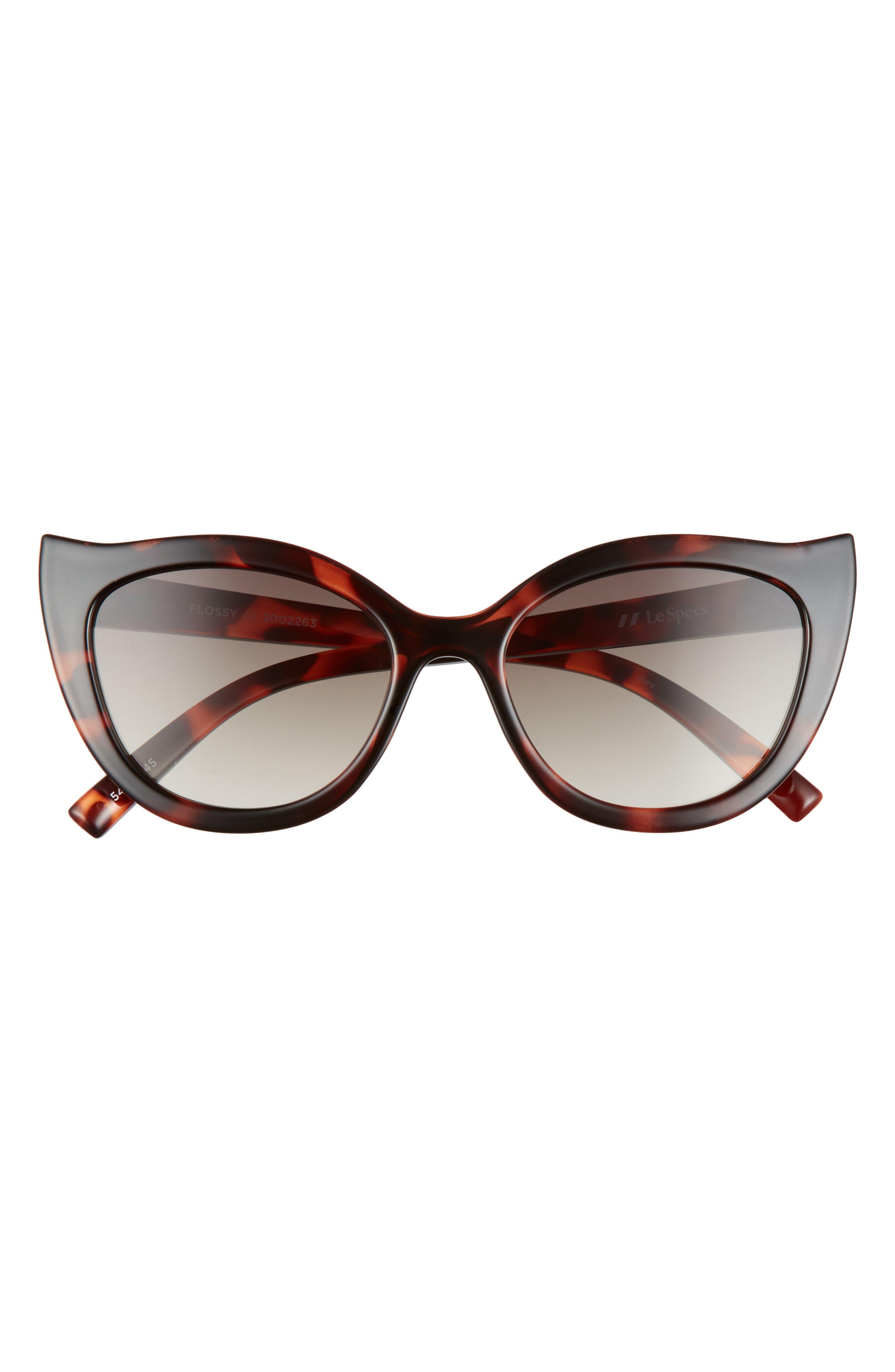 Flossy 54mm Cat Eye Sunglasses