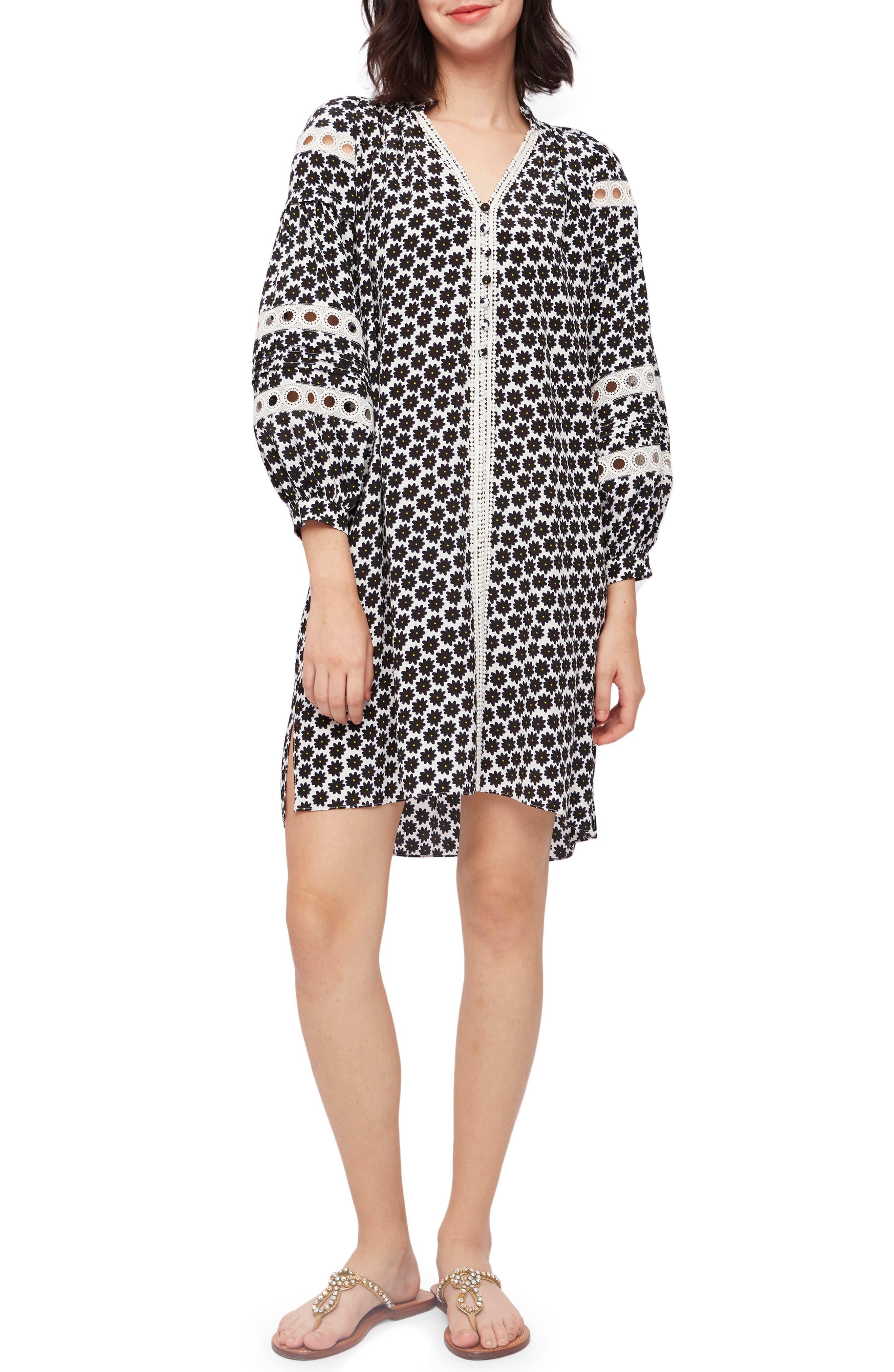 Jessica Daisy Dots Shift Dress