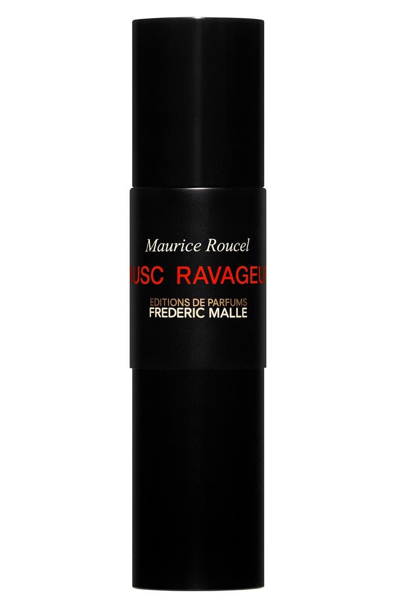 FREDERIC MALLE Editions de Parfums Frédéric Malle Musc Ravageur Travel Parfum Spray, Main, color, 000