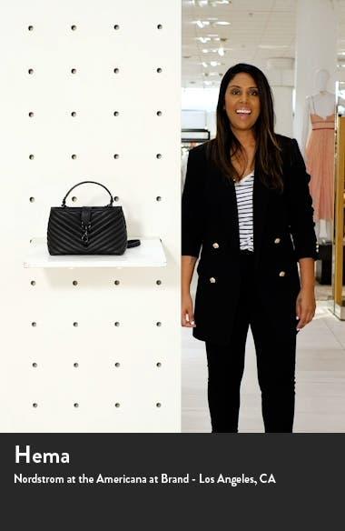 Edie Leather Top Handle Satchel, sales video thumbnail
