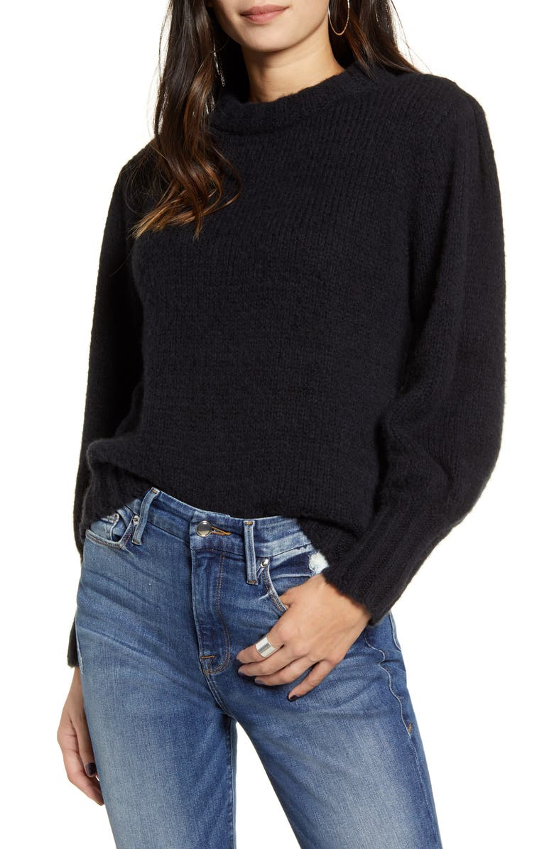 RAILS Sybil Sweater, Main, color, BLACK