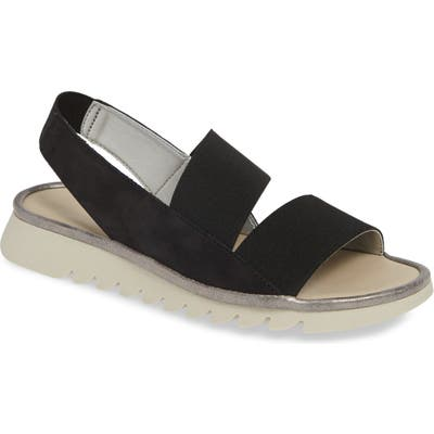 The Flexx New Wave Slingback Sandal, Black