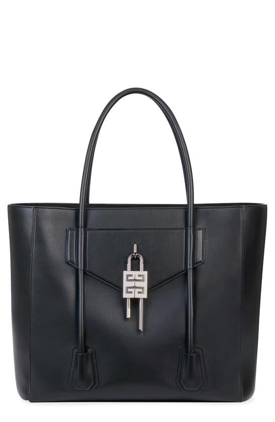 Givenchy Leathers ANTIGONA LOCK SOFT LEATHER TOTE