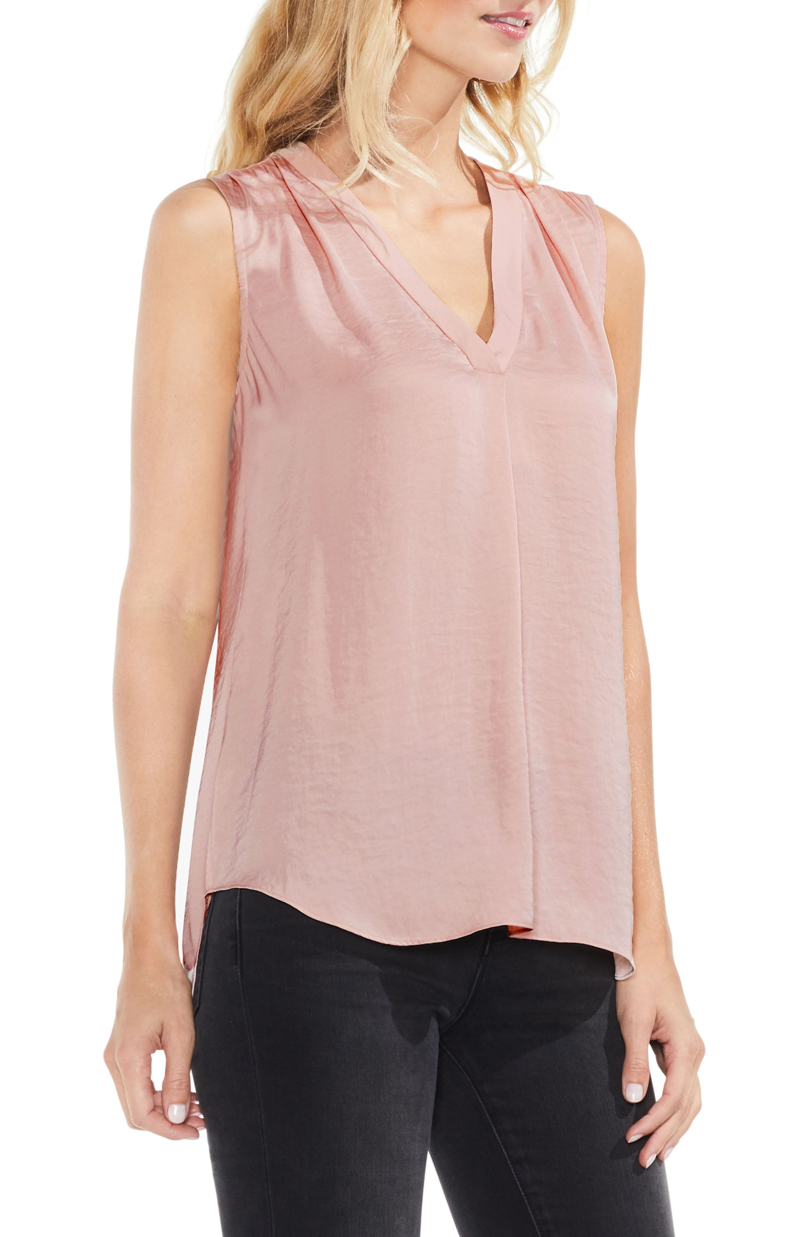 ,                             Rumpled Satin Blouse,                             Main thumbnail 249, color,                             667