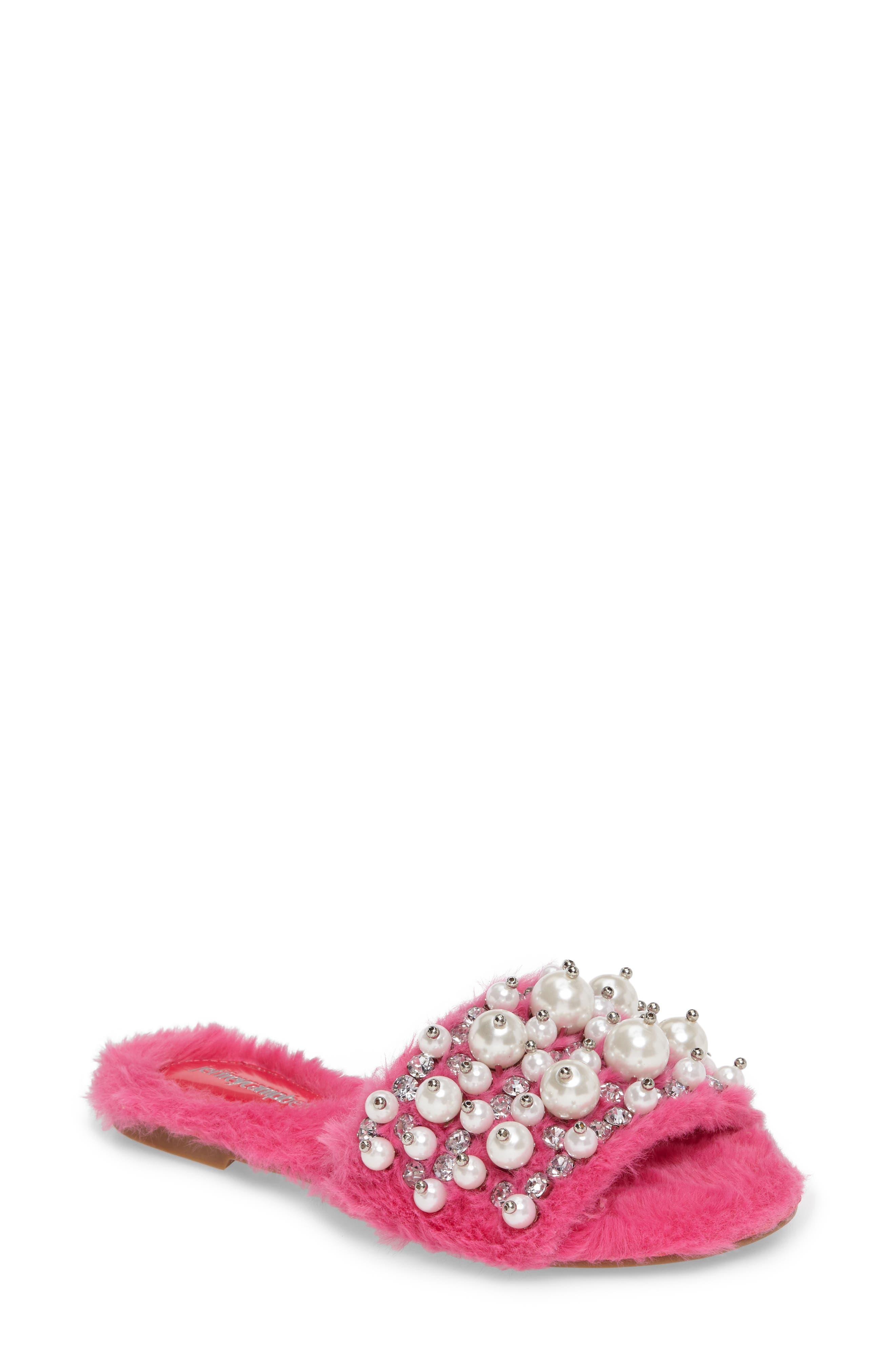 ,                             Facil Embellished Slide Sandal,                             Main thumbnail 37, color,                             670