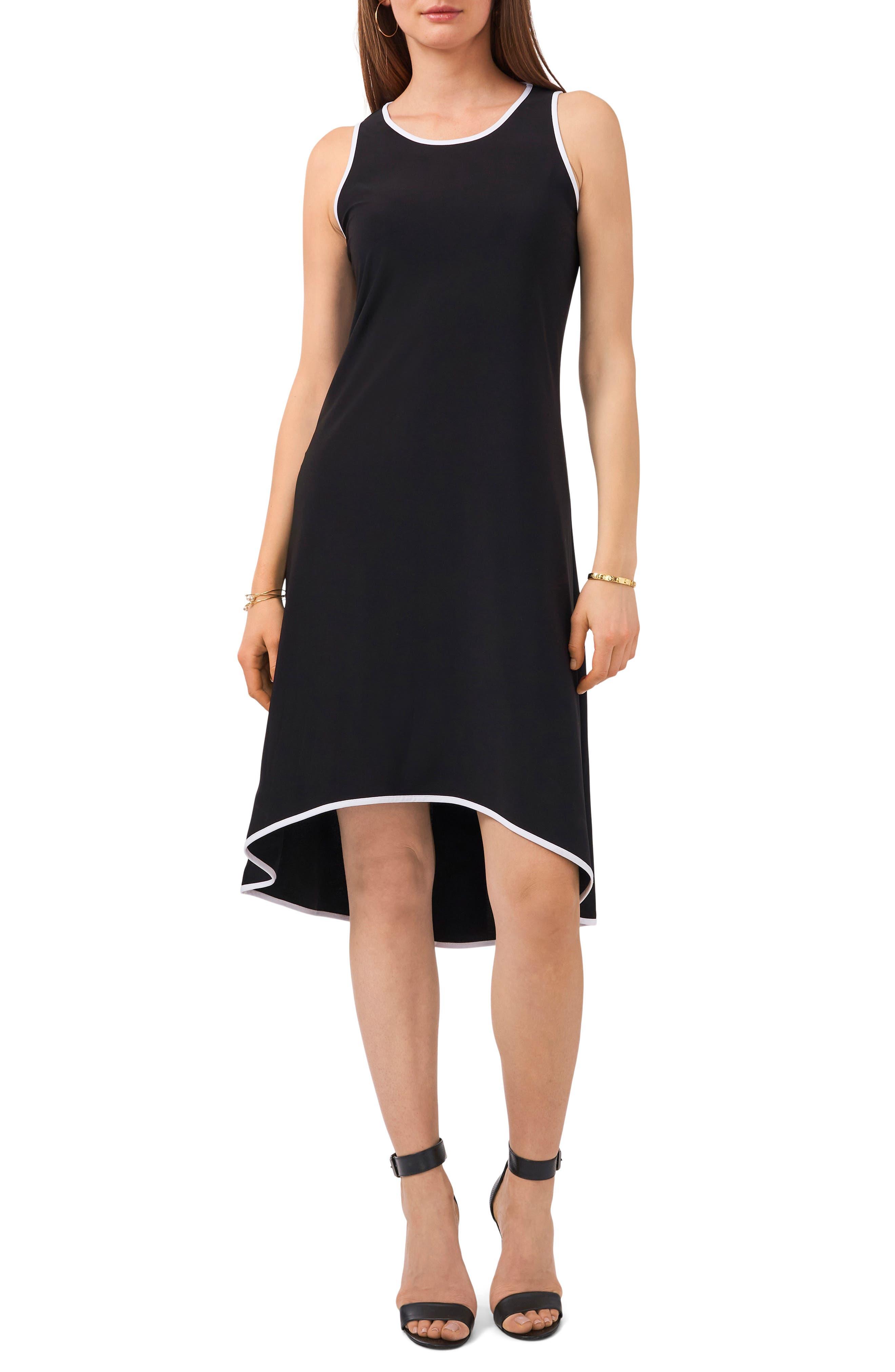 High/low Matte Jersey Dress