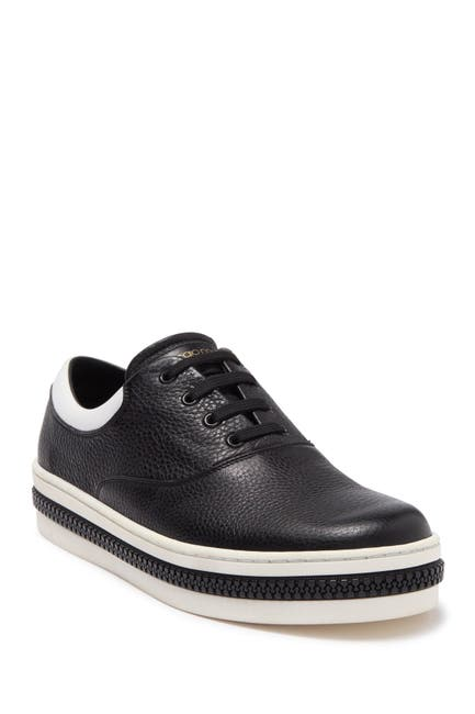 Image of Sergio Rossi Lace-Up Chunky Sole Sneaker