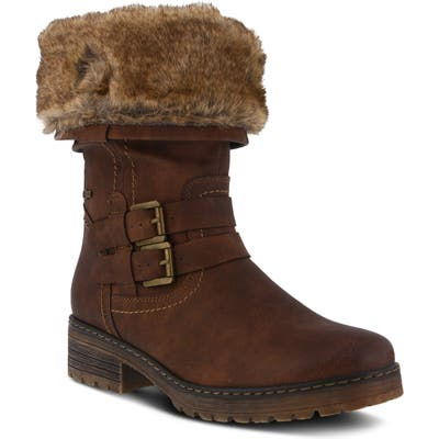 Spring Step Comatulla Water Resistant Boot - Brown