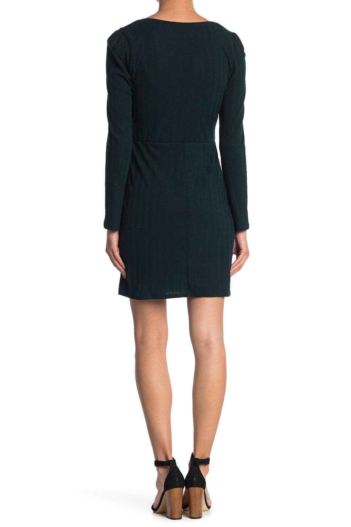 Image of ROW A Ribbed Scoop Mini Dress