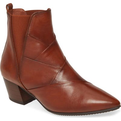 Hispanitas Sara Pointed Toe Bootie - Brown