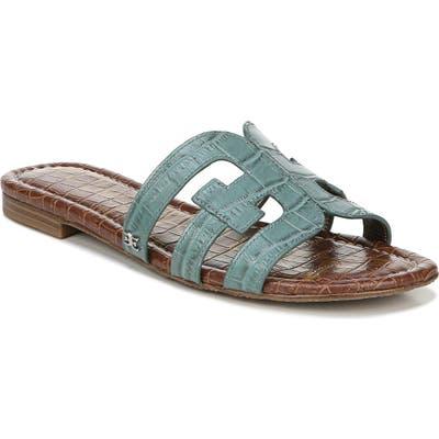 Sam Edelman Bay Cutout Slide Sandal- Blue