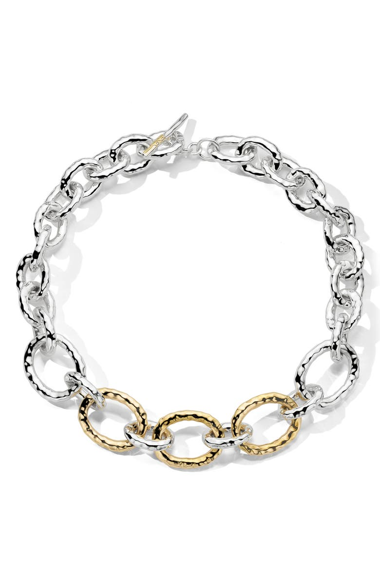 IPPOLITA Chimera Classico Bastille Necklace, Main, color, SILVER