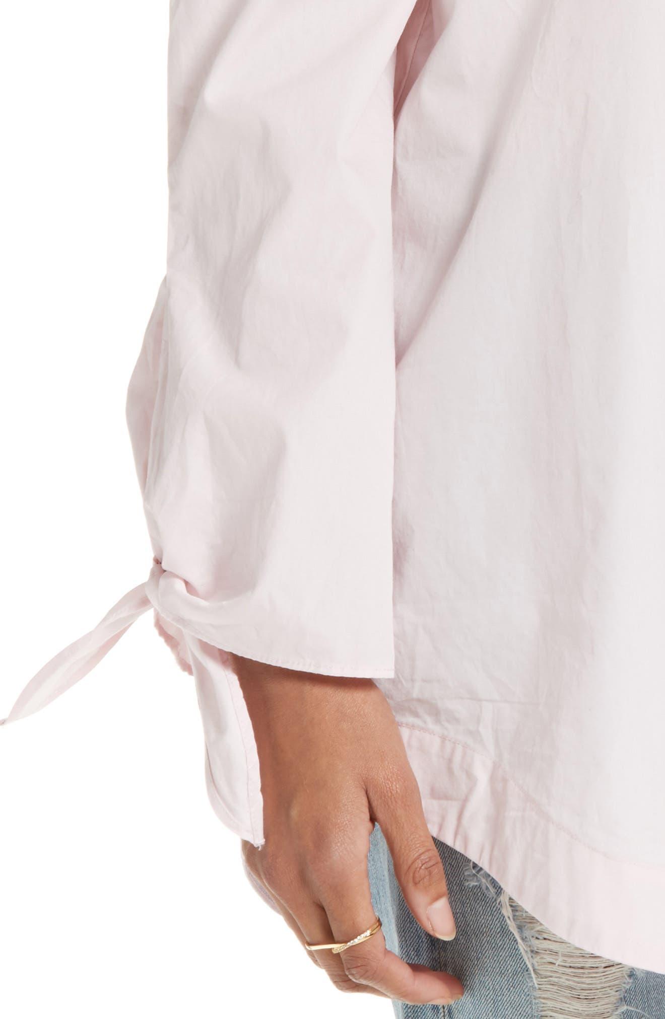 ,                             'Show Me Some Shoulder' Off the Shoulder Cotton Blouse,                             Alternate thumbnail 31, color,                             650