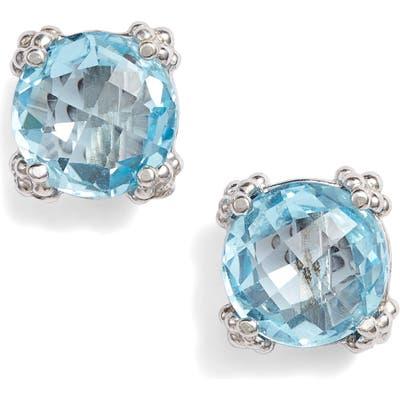 Anzie Cluster Topaz Stud Earrings