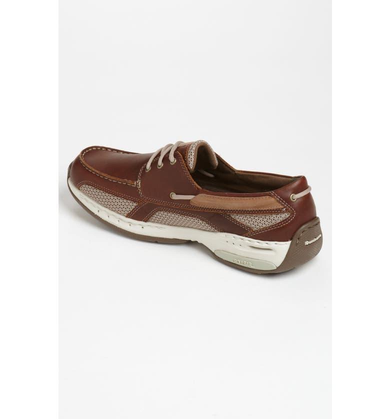 DUNHAM 'Captain' Boat Shoe, Main, color, BROWN