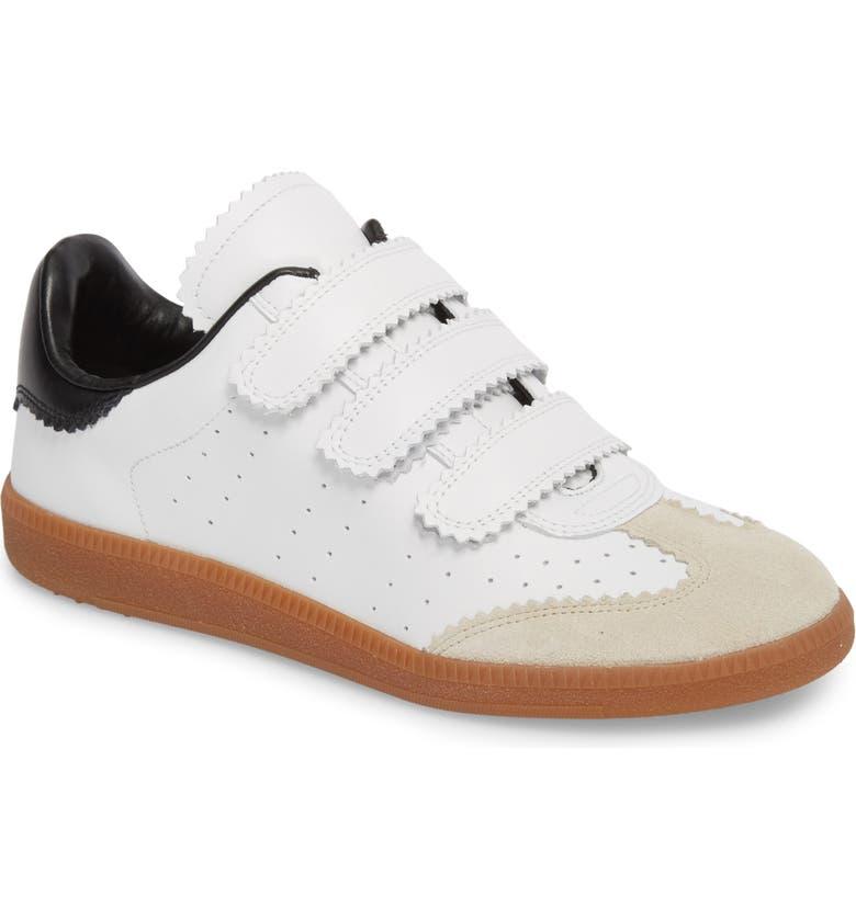 71ce3a3cb3 Isabel Marant Beth Low Top Sneaker, Main, color, BLACK