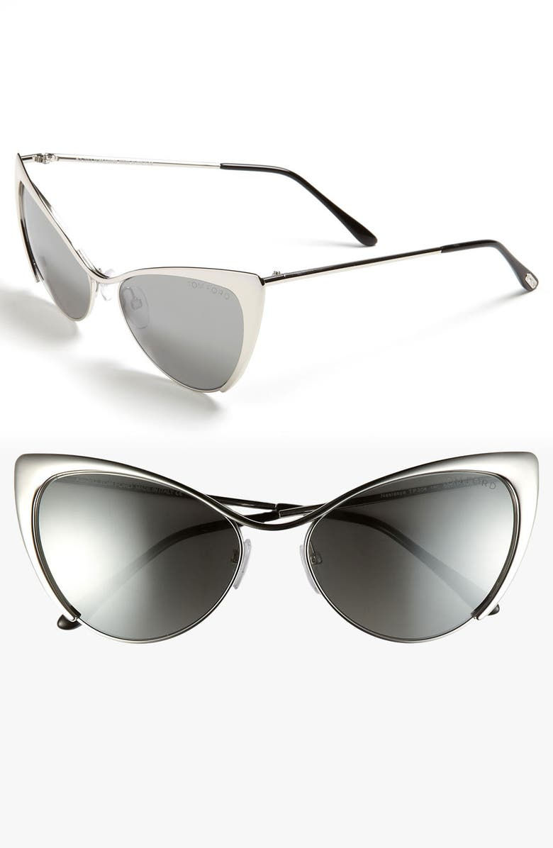 TOM FORD 'Nastasya' 56mm Sunglasses, Main, color, 040