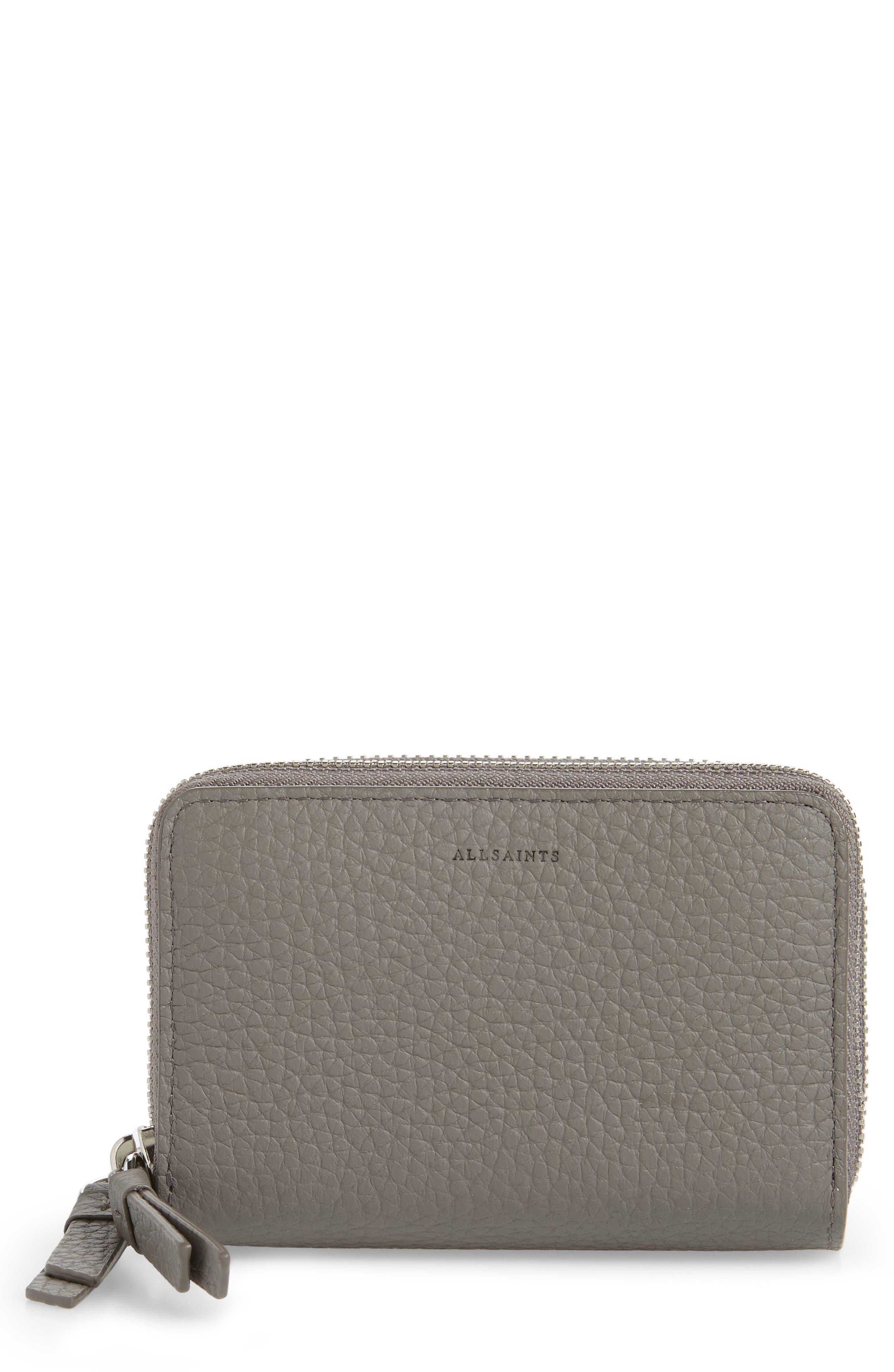 Image of ALLSAINTS Fetch Leather Card Holder
