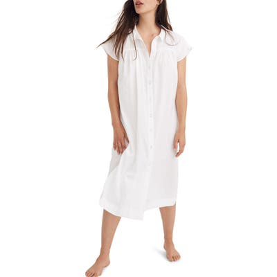 Madewell Tunic Sleep Dress, White