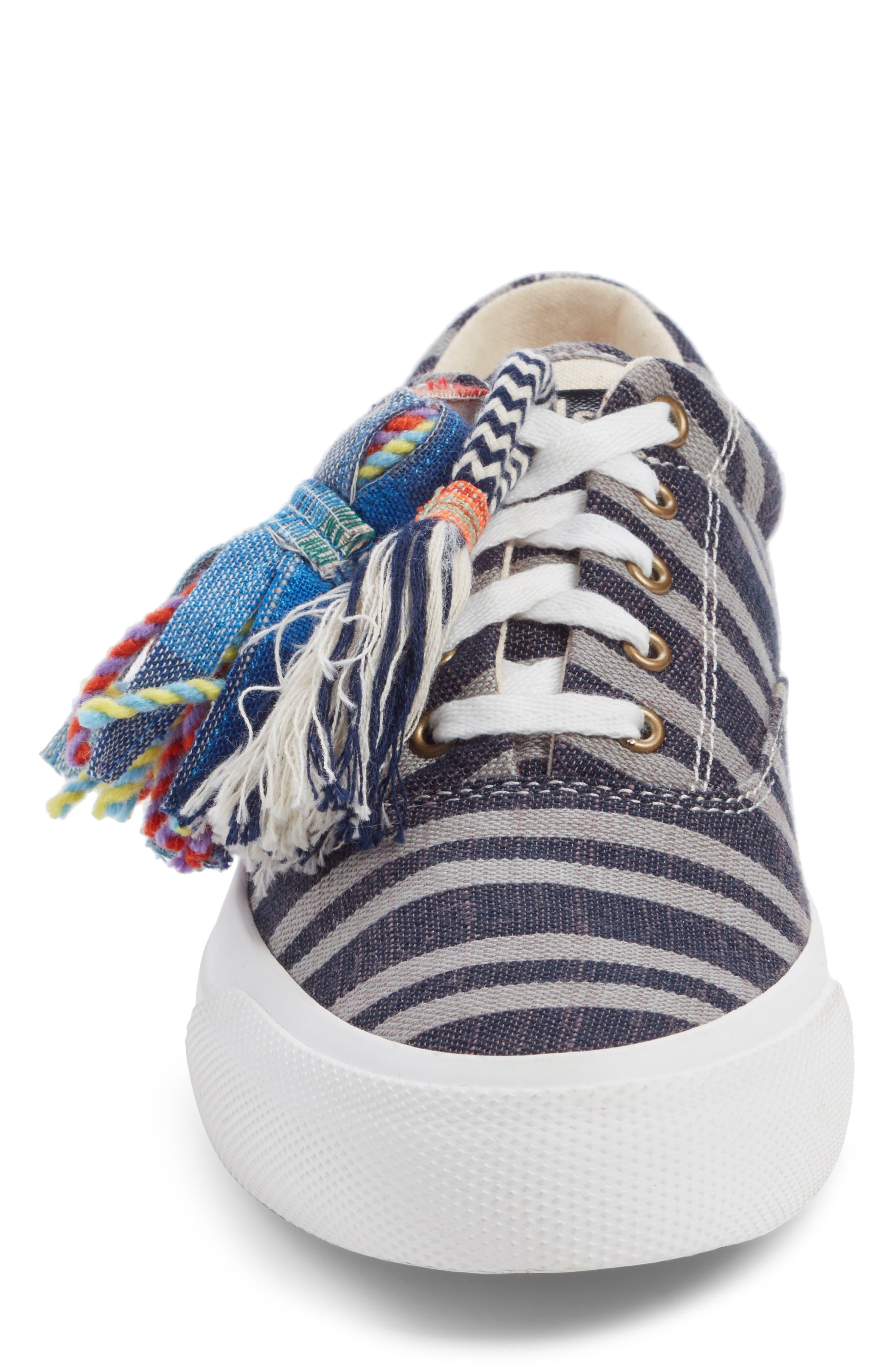 ,                             Keds x Ace & Jig Anchor Channel Sneaker,                             Alternate thumbnail 4, color,                             BLACK MULTI