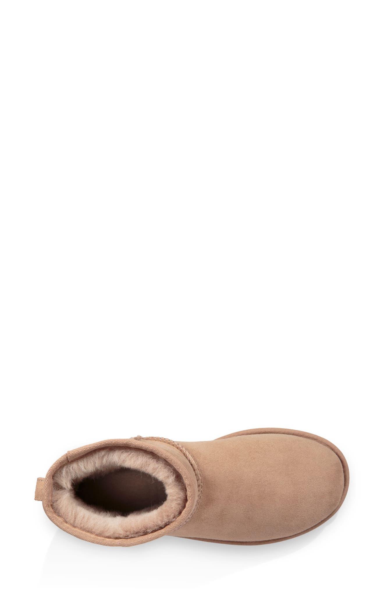 ,                             Classic Mini II Genuine Shearling Lined Boot,                             Alternate thumbnail 22, color,                             200