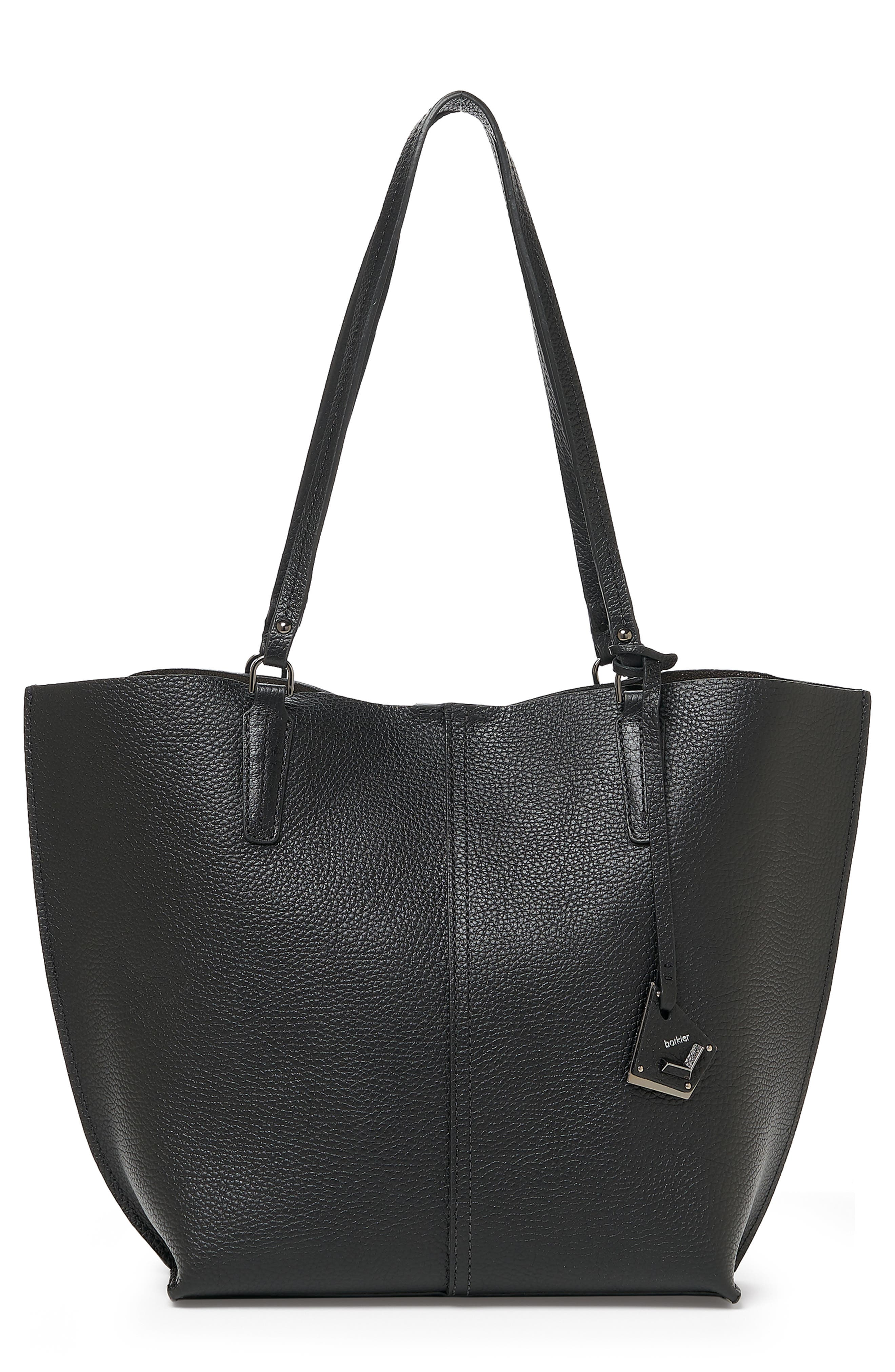 Hudson Pebbled Leather Tote