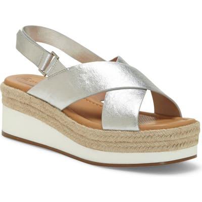 Cc Corso Como Penelopy Platform Sandal, Metallic